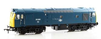 Class 25/3 25286 BR Blue Domino Head Code