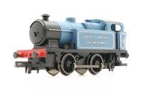 Railroad Ex-Industrial 0-4-0 'Godfrey & Mitchell Coal Merchants' 'No.9'