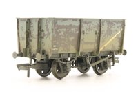 16 Ton Slope Side Mineral Wagon BR Grey Weathered