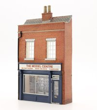 OO Scale Low Relief Model Shop