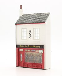 OO Scale Low Relief Gibbs & Son Guitars