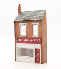OO Scale Low Relief 'Rocket Ron's Record Shop'