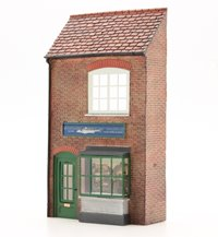 OO Scale Low Relief Fishing Tackle Shop