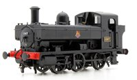 Heljan 1323 Class 1366 0-6-0PT 1367 in BR black with early crest