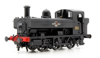Heljan 1324 Class 1366 0-6-0PT 1368 in BR black with late crest