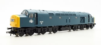Class 40 BR 40159 BR Blue Centre Head Code Full Yellow Ends Diesel Locomotive