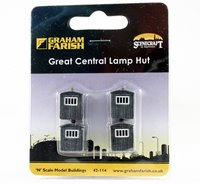 Great Central Lamp Hut 11mm x 14mm x 16mm
