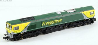 Class 66 Freightliner Powerhaul Livery #66504 DCC Fitted