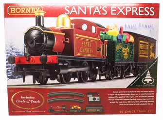 Santa's Express Christmas Train Set