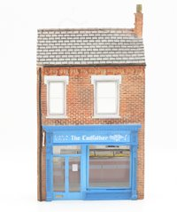 """Scenecraft - Low Relief """"The Cod Father"""" Fish & Chip Shop - OO Gauge"""
