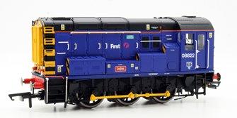 First Great Western Class 08 822 Diesel Shunter Locomotive 'John'