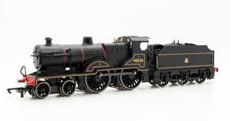 BR Black (Early) Fowler Class 2P 4-4-0 Locomotive 40626 with TTS Sound
