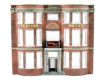 Low Relief Station Hotel