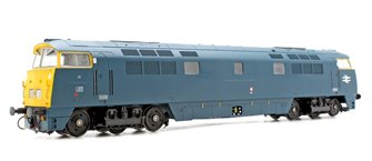 Class 52 'Western Nobleman' #D1058 BR Blue Full Yellow Ends DCC Fitted