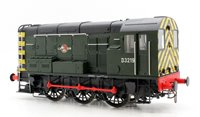 Class 08 #D3219 BR Green Late Crest with Wasp Stripes Diesel Shunter