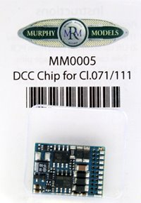 Murphy Models MM0005 DCC Chip for Class.071/111 Locomotive