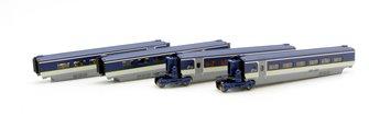 Kato 10-1298 Eurostar (2015) 4 Coach Extension Set New Livery