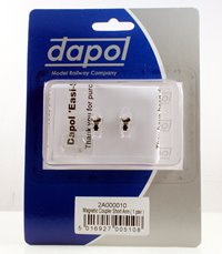 Dapol 2A000010 Short Arm Magnetic Couplings - 1 Pair