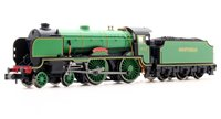 Schools Class 'Wellington' #902 SR Pre-war Malachite Lined Green