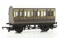 RailRoad GWR 4 Wheel Coach