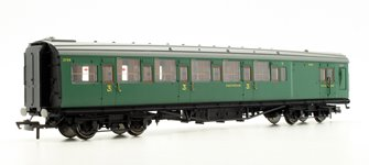 SR Maunsell 6 Compartment Third Class Brake Coach No.3798