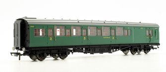SR Maunsell 6 Compartment Third Class Brake Coach No.3797