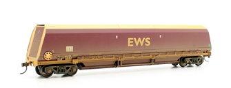 104 Tonne glw HTA Bulk Coal Hopper Wagon EWS Weathered