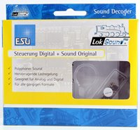 Loksound v4.0 Steam Britannia 2Cyl Digital Micro Sound Decoder with Speaker - 8 pin