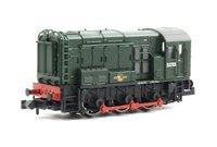 Class 08 D3785 BR Green Late Crest