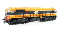 Class 071 IE Orange/Black Livery Diesel Locomotive 077