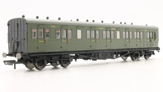 SR 58' Maunsell Rebuilt (Ex-LSWR 48') Six Compartment Lavatory Brake Third Coach, SR Olive