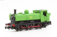 Dapol 2S-007-019D Class 57xx Pannier 0-6-0PT 7754 in National Coal Board green with original cab - DCC Fitted
