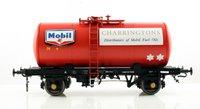 Class B Tank Wagon - Mobil Charringtons Fuel Oils Red