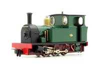 Fourdees Limited OO9 Scale 41-106 St George Brunswick Green 0-6-0 Tank Locomotive