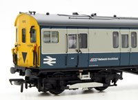 2EPB 2 Car EMU 6262 BR Blue & Grey Network SouthEast