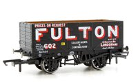 Oxford Rail OR76MW7018 7 Plank Mineral Wagon - Wigan Fulton 602