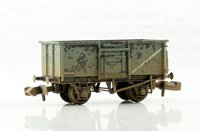 N Scale 16 Ton Steel Mineral Wagon Top Flap Doors BR Grey Weathered