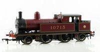 OO Scale L&YR 2-4-2 Tank 10713 LMS Crimson