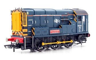 Class 08 644 'Laira Diesel Depot' BR Blue Diesel Shunter Locomotive