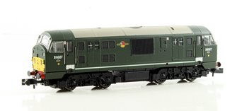 Class 22 BR D6327 Disc Headcode Amended WP DCC Fitted