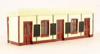 Wooden Station Booking Office 150mm x 40mm x 49mm