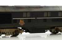Custom Finished Bachmann OO 31-999XEEW LMS Twin 10001 BR Black/Chrome Diesel Locomotive Weathered with Early Emblem