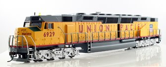 Union Pacific EMD DD40AX Centennial Diesel Locomotive #6929 - DCC Sound