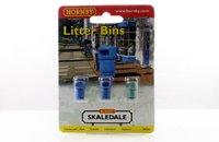 Hornby Skaledale Litter Bins (x3)
