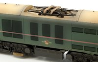 Custom Finished Class 71 - E5022 BR Green Electric Locomotive Weathered