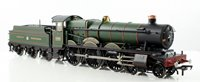 'Rood Ashton Hall' GWR Green Halls Class 4-6-0 Locomotive 4965
