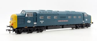 Class 55 004 ''Queen's Own Highlander' BR Blue Deltic Locomotive DCC SOUND