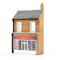 N Scale Low Relief Newsagents