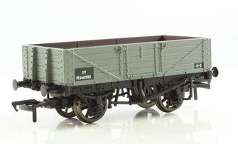 5 Plank Wagon Wooden Floor BR Grey