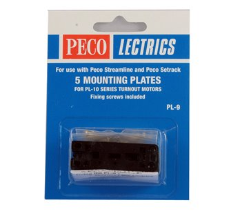5 Mounting Plates for use with PL10